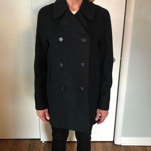 Burberry Black peacoat